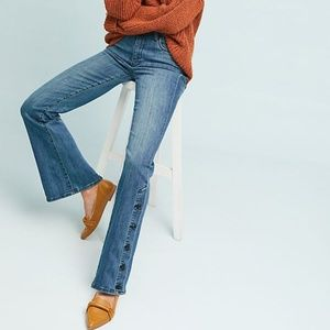 Anthropologie Pilcro High-Rise Jean with Buttons